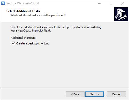 Desktop icon creation