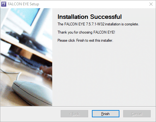 Finish the installation of the app
