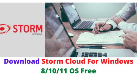 Storm Cloud For Windows