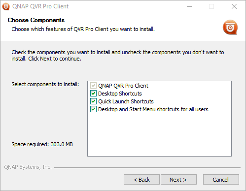 Select the option of the software