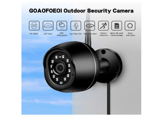 GOAOFOEOI Outdoor Camera 3