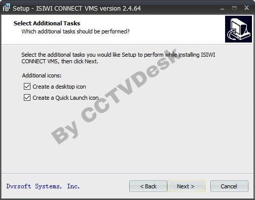 Create desktop icon and quick launch icon