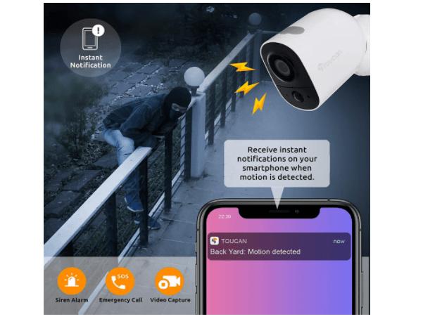 Toucan Wireless Camera 6