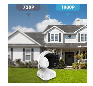 Zumimall PTZ Wireless camera 10