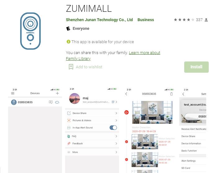 Zumimall PTZ Wireless camera 18