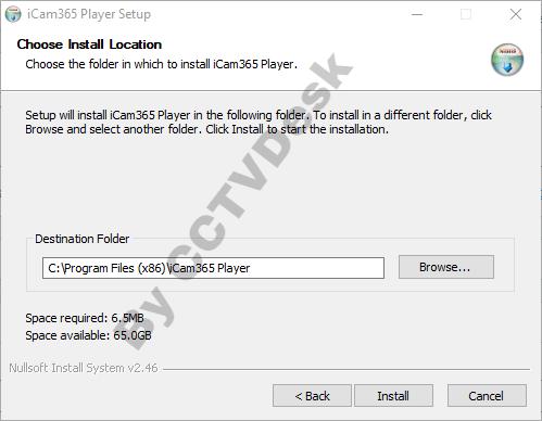 Local drive selection for saving files