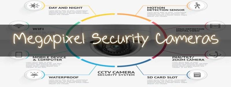 Megapixel Security Cameras