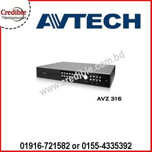 AVZ316QUADBRID Avtech 16CH CCTV DVR