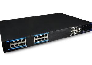 16 Ports PoE Full Gigabit Managed Ethernet Switch