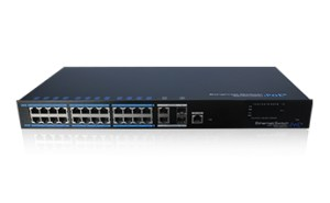 24 Ports PoE Managed Ethernet Switch
