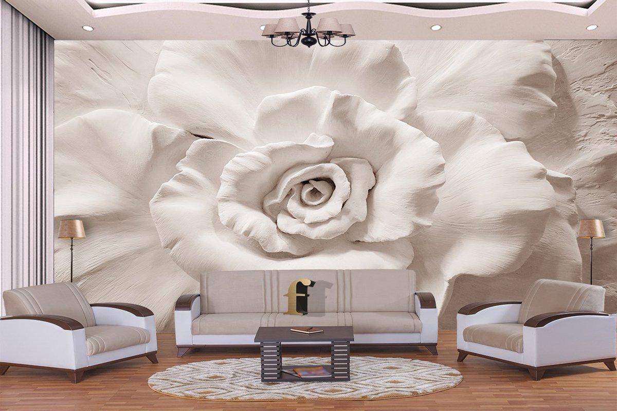 ورق جدران ثلاثي الابعاد اشكال جديدة لورق الحائط كيوت