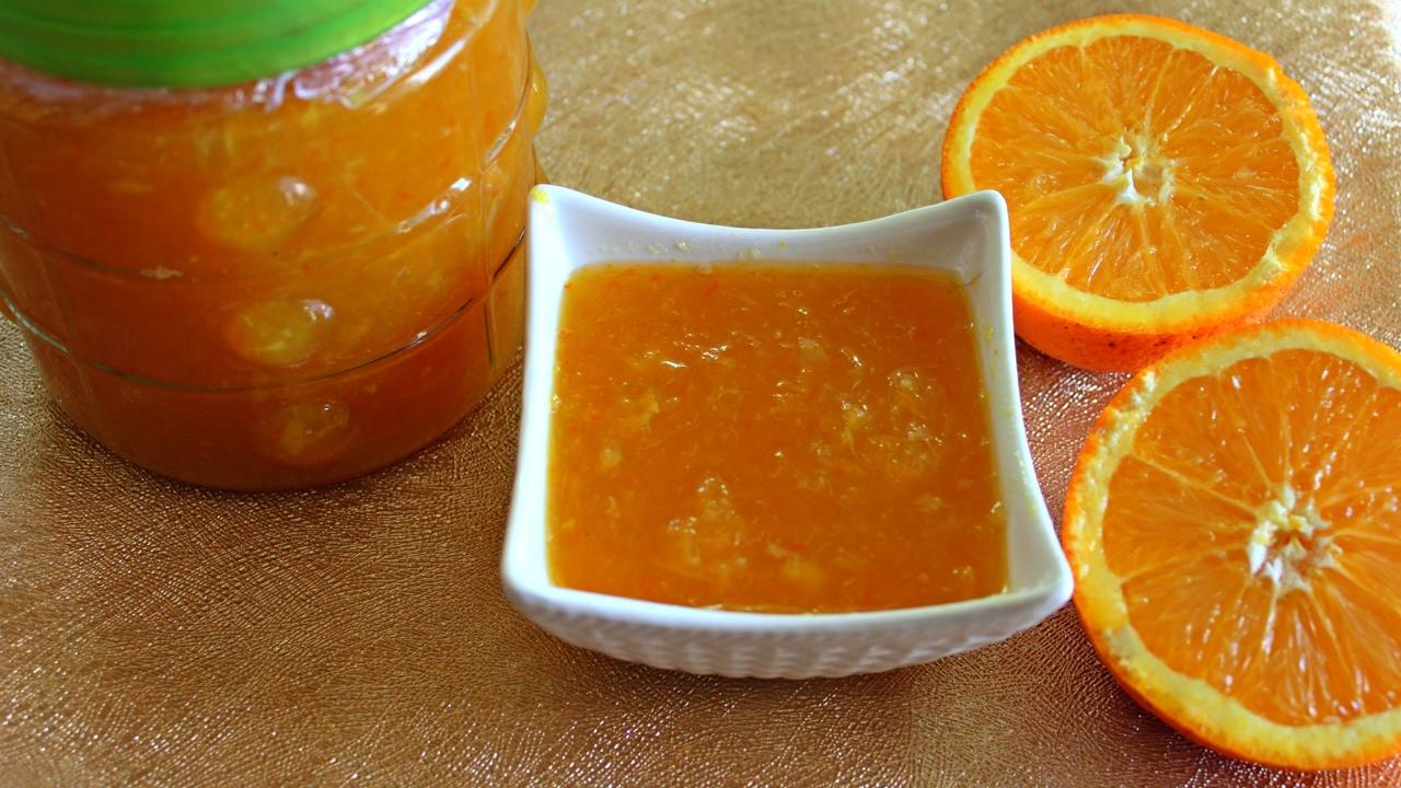 طريقة عمل مربى البرتقال الصغير الذ وصفة لعمل مربي برتقال كيوت