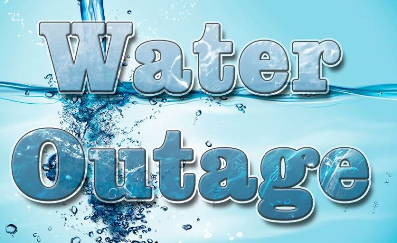 Water Outage Flyer