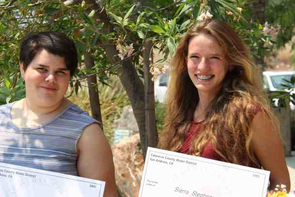 CCWD 2018 Scholarship Recipients