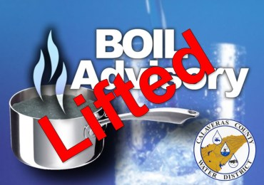 Boil Water Notice Lifted in Sheep Ranch