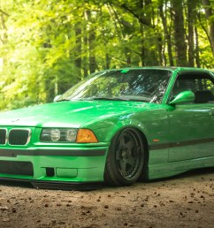 green bmw e36 m3 ccw classic 5 wheels [ 1920 x 1280 Pixel ]