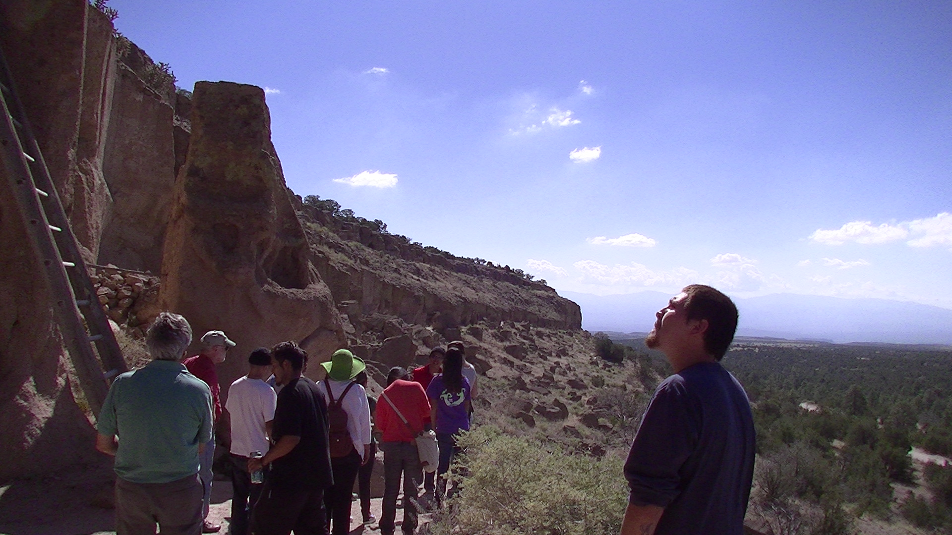 CCW Youth Council – Puye Cliffs and LANL Site Tour – 2014