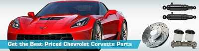 Get the Best Priced Chevrolet Corvette Parts at Parts Geek