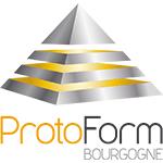 Logo ProtoForm, Partenaire CD Plast bureau etude mecanique, bureau etude technique