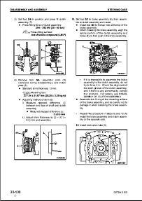 Komatsu CSS Service Wheel Loaders WA-500 to WA1200