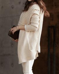 Shawl Collar Cardigan Sweater Jacket AX090801ax on Luulla