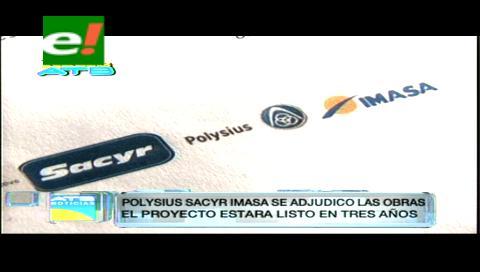 Gobierno seleccionó a la empresa Polysius-imensa para la construcción de la planta de cemento en Oruro