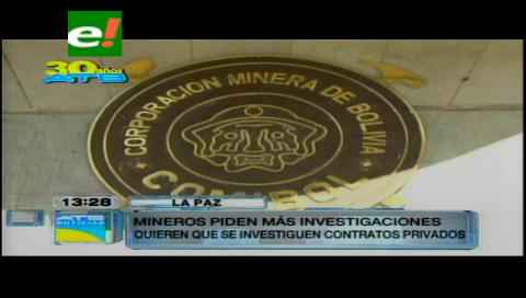 Piden intervención de Senarecom y Sergeotecmin para investigar contratos con privados