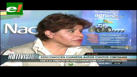 """Aduana espera información de la ANH para iniciar el decomiso de autos """"chutos"""" en el país"""