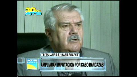 Titulares: Ampliarán imputación por el caso Barcazas
