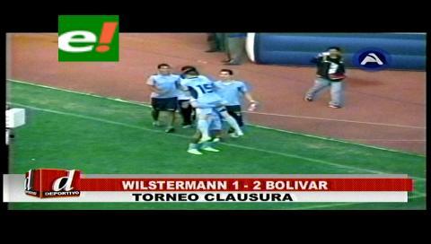Bolívar se impuso a Wilsterman