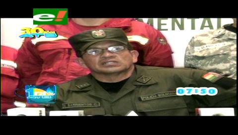 """Policía Departamental de La Paz activa plan """"Semana Santa"""""""