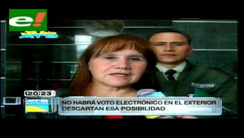 TSE descarta aplicar voto electrónico en países con pocos registrados