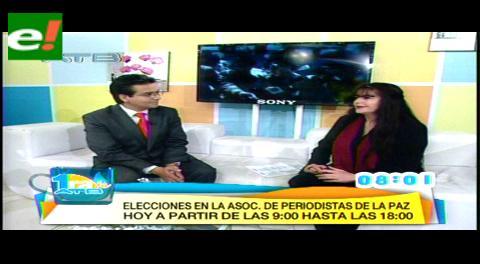 Asociación de Periodistas de La Paz elige a su nuevo Directorio