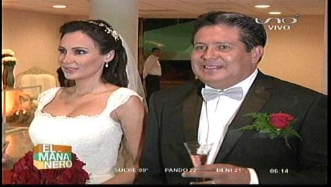 El político Óscar Vargas contrajo nupcias