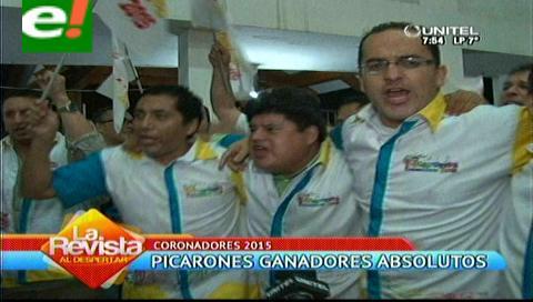Picarones celebran ser los coronadores del carnaval 2015
