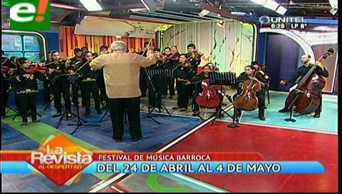 Orquesta de Cuerdas San José de Chiquitos inaugura el Festival de Música Barroca