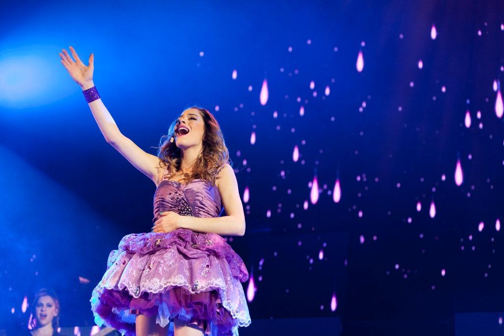 """Se estrena en Bolivia la película """"Violetta: En concierto"""""""