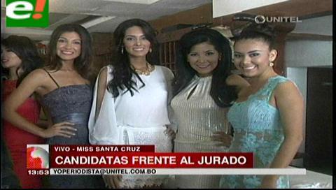 Miss Santa Cruz 2014: Las candidatas frente al jurado