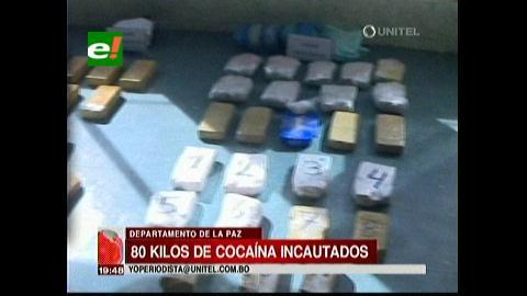 La Paz: Felcn incauta 80 kilos de droga y aprehende a 16 personas en siete días de operativos