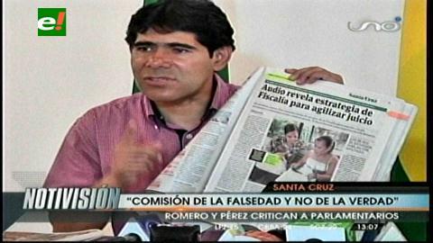 Gobierno: Comisión de parlamentarios no es de la verdad sino de la falsedad