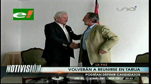 Rubén Costas y Juan Del Granado tendrán su tercer encuentro en Tarija
