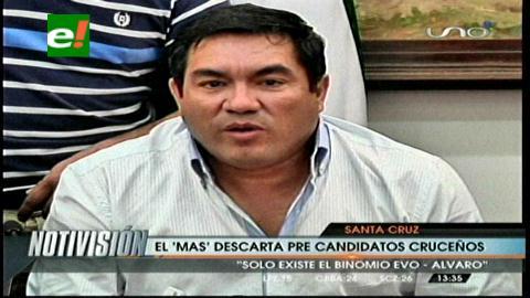 El MAS desmiente posible candidatura de Ferreira y Dabdoub