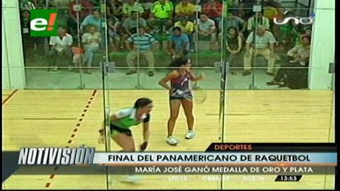 Bolivia ganó 11 categorías del Panamericano de Raquet