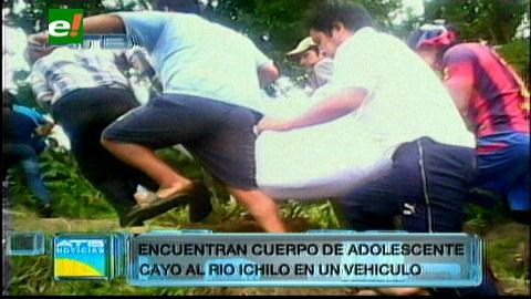 Recuperan cuerpo de menor que se ahogó en el río Ichilo