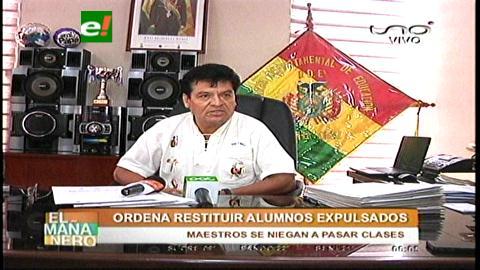 DDE ordena restituir a alumnos expulsados del colegio Eagles School