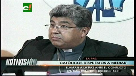 Iglesia Católica se ofrece a mediar en el conflicto Gobierno-militares