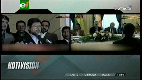 Partidos políticos respaldan demanda contra Chile y aseguran es visto como política de Estado