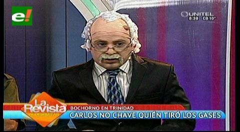 Carlos no Chave: ¿Quién tiró los gases en Trinidad?