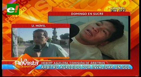 Árbitros de Bolivia alistan un pronunciamiento oficial tras agresión en Sucre