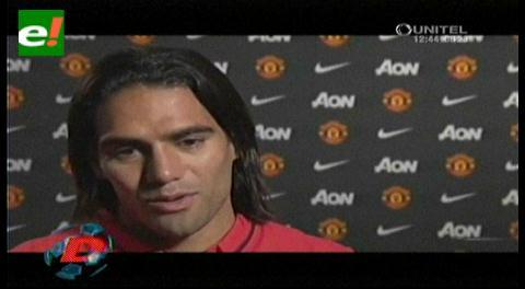 Radamel Falcao: Esto ganará por minuto en Manchester United